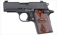 "Sig P938 Nitron Rosewood Grips 9mm 3"" 6rds NS  938-9-RG-AMBI  798681437580"