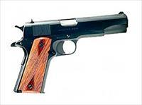 "Colt GI 1991 45ACP 5"" 7rds Parkerized Rosewood Grips O1991"