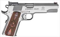 "Springfield Range Officer 1911 9mm 5"" Stainless 9rds PI9122LP"