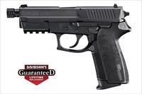 Sig SP2022 9mm Threaded Barrel Black Nitron NS 15rds