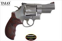 "Smith & Wesson Model 629 Deluxe Talo Edition 44 Mag 3"" Stainless 6rds 150715"