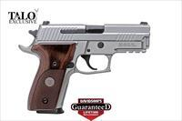 "Sig P226 40SW Alloy Stainless Steel Elite TALO Edition 12rds 4.4"" NS 798681553532"