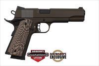 "Armscor Rock Island Armory M1911-A1 ROCK Standard FS DS 45ACP 8rds 5"" Cerakote Patriot Brown 51514"