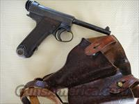 Japanese Nambu 8mm pistol