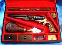 ASM COLT 1860 ARMY WITH CASED SET serial #82920