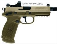 FNX-45 Tactical 45ACP FDE 15+1 Threaded Barrel Night Sights 66968