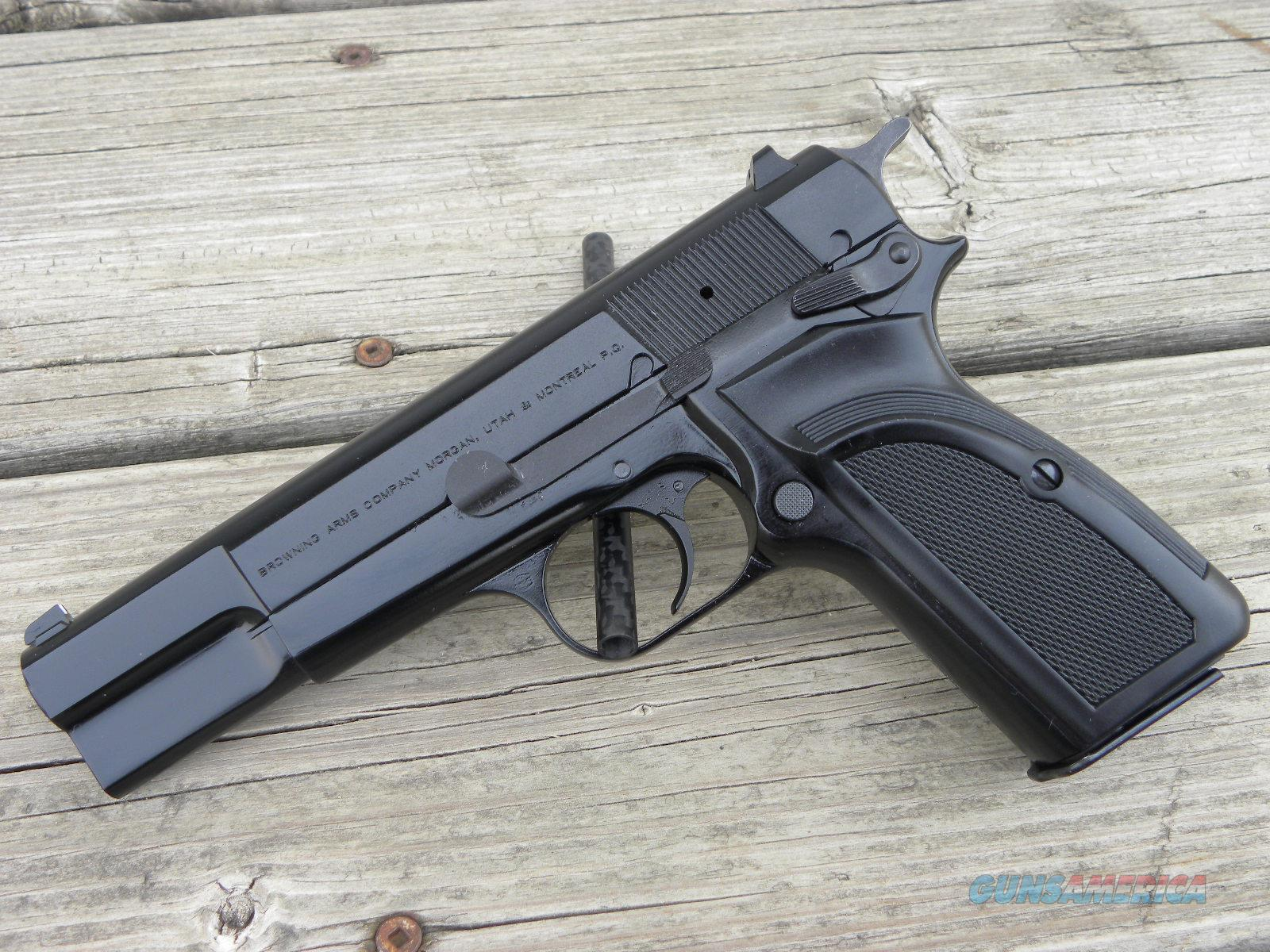 Browning Hi Power Mkiii 13 1 051002393 9mm For Sale