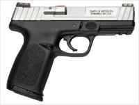 "S&W SD9VE 9MM 10RD 4"" DT FO 2MGS CA"