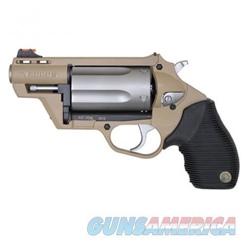 Taurus Public Defender Polymer Flat Dark Earth  45 Colt 2-inch 5Rds  Stainless Cylinder