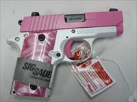 Sig Sauer P238 Pink and White