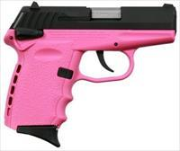 SCCY CPX-1 9MM 3.1 BLK NITRIDE AMBI PINK 10RD