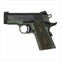 CLT DEFENDER 45ACP 3 FOILAGE GREEN BLUED SLID
