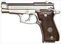 BERETTA 85 CHEETAH 380ACP 9RD NICKEL WOOD