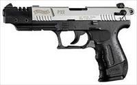 WALTHER ARMS WTH P22 22LR CA TGT NICKEL 5