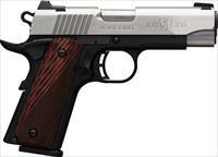 BRO 1911-380 380ACP 8RD 3 5\8 BLACK LABEL SS