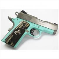 COLT DEFENDER 45ACP 3 ROBINS EGG BLUE