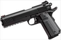 Rock Island Armory M1911-A1 22TCM/9mm, Full Size, 5in bbl, Parkerized, 10rd, Rail
