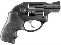 Ruger LCR 38SPC BL/HOGUE GRP 5RD DAO