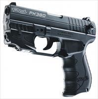 WALTHER ARMS WTH PK380 .380AUTO BLK,3.66