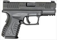 "SPRINGFIELD XDM COMPACT 40SW 3.8"" 16RD SEMI BLK 2 MAGS"