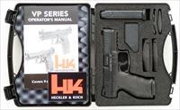 HK VP40 .40 S&W, two 13-round mags., accessories, as new in case