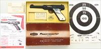 Wamo Powermaster .22 LR, box, papers, serial 001087, 97% condition