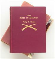 The Rifle In America by Sharpe, inscribed to Bill Jordan, first edition, 1938, slip case