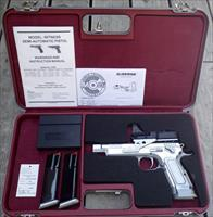 Tanfoglio Witness Gold Custom .45 ACP, C-More sight, accessories and case