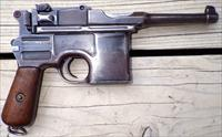 Mauser Broomhandle, matching numbers