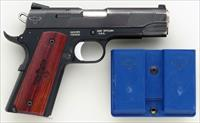 Smith & Wesson 1911PD Gunsite Edition .45 ACP, Scandium, Novak, thin grips, 85%, mag carrier, layaway