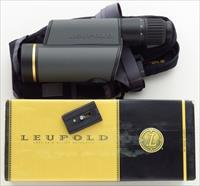 Leupold Golden Ring 12-40x60mm HD Spotting Scope, Shadow Gray, Impact Reticle, 99%