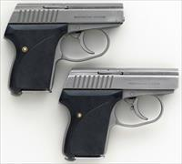 Seecamp Restricted Edition 25 ACP & 32 ACP, same serial, one of 200 sets