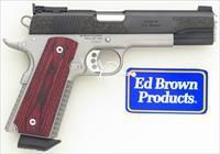Ed Brown Classic Custom Enhanced .45 ACP, engraved, two tone, 2019, new, unfired, layaway