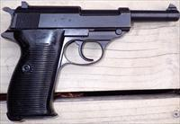 Walther P38 9mm, AC 43, matching numbers, 90%