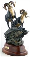 "Rick Taylor ""Warning on the Wind"", Stone's sheep bronze"