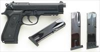 Beretta 96A1 .40 S&W, rail, 3-dot sights, four magazines, 98 percent