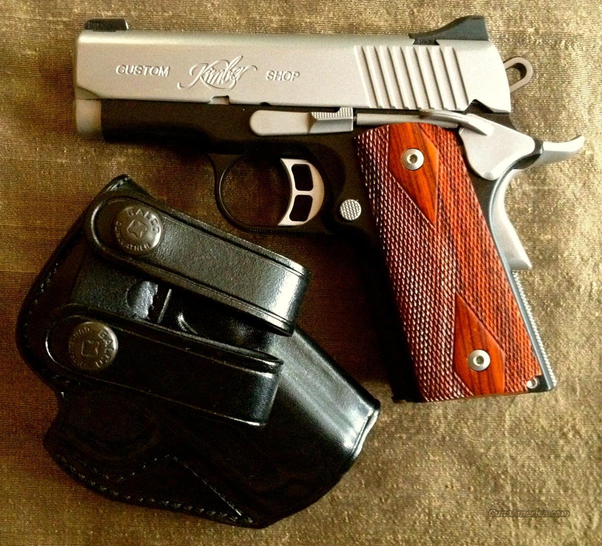 Kimber Ultra CDP II  45 ACP, Galco holster