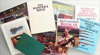 Firearm reference books, lot of 9, Parker, Colt, Carmichel, Askins