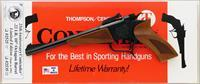 Thompson/Center Contender 25th Anniversary .22 LR, 1992, limited edition, boxed, unfired, layaway