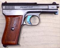 Mauser Model 1910 6.35mm (.25), matching, wood, box, manual, 90%