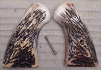 Colt Python stag grips from Eagle