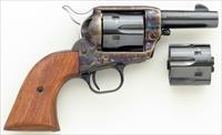 Colt SAA Sheriff's Model convertible .44-40 & .44 Special, 3-inch, color case, unturned and unfired, layaway
