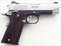 Kimber Pro CDP II .45 ACP, 4-inch, 28 ounces, night sights, ambi safety, stainless slide