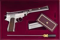 Wildey Survivor .45 Win. Mag., one-of-a-kind employee build, single action only, engraving, presentation case, Brookfield, layaway