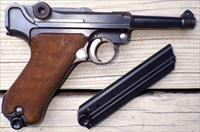 Luger DWM serial 4897, 30 Luger, 3.75-inch commercial