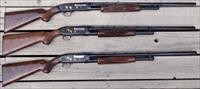 Winchester Browning Model 12 / 42 Grade IV 3-gun set 20/28/410, matching numbers