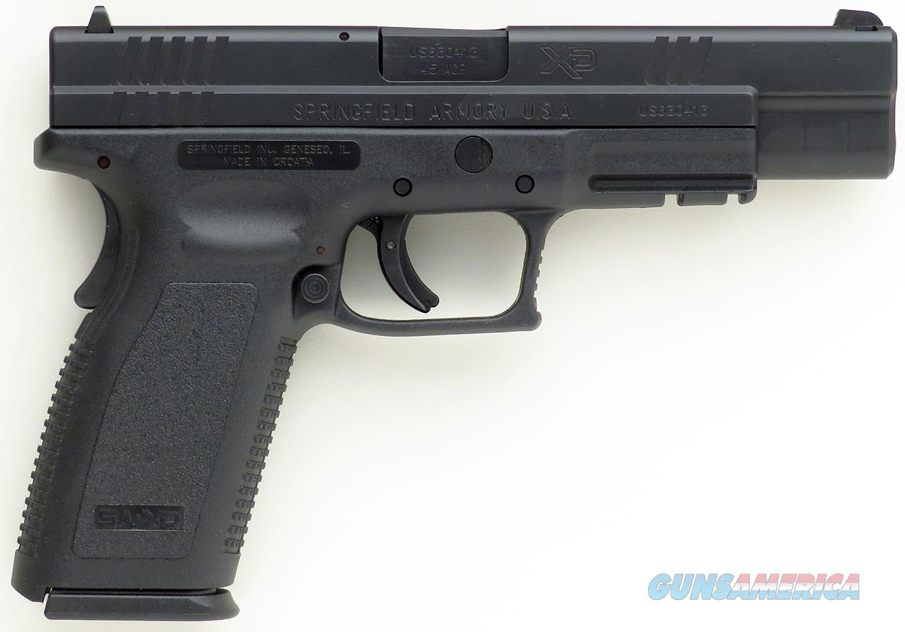 Springfield XD-45 Tactical  45 ACP, 5-inch, two 13-round mags, grip safety,  accessories, 2006, NIB