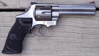 Smith & Wesson 629-6 Classic .44 Magnum, 5-inch, Lasergrips, Bianchi holster, 99%, box