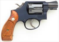 Smith & Wesson Model 12-2 Airweight .38 Special, 1977, 2-inch, 6-shot, aluminum frame, round butt, 95% plus, little fired