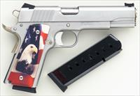 Para-Ordnance 1911 SSP .45 ACP, stainless steel, special grips, two mags, case, 90%